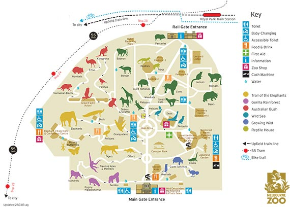 What To Do In Melbourne Melbourne Zoo Just Take The Kids